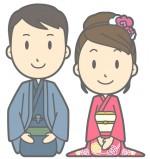 夫婦のイメージイラスト