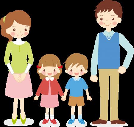 家族のイメージイラスト