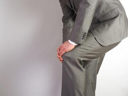 膝の痛みイメージ画像