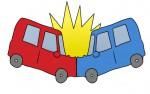 交通事故のイメージイラスト