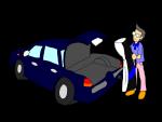 車のトランク