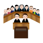 裁判員裁判のイメージイラスト