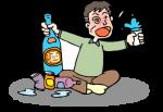飲酒のイメージイラスト