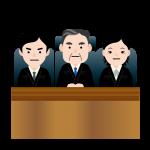 裁判での流れイラスト