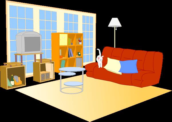 家財道具のイメージイラスト