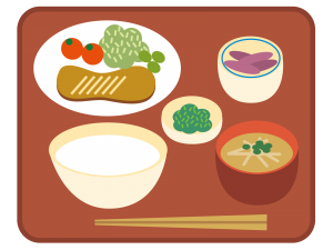 給食のイメージイラスト