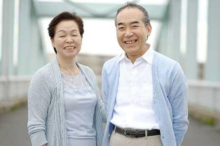 老夫婦のイメージ画像