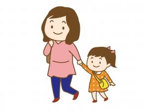 親子のイメージイラスト