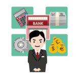 銀行のイメージイラスト