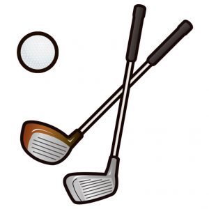 ゴルフのイメージイラスト