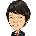 弁護士入野田智也のイラスト