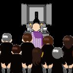 葬儀のイメージイラスト