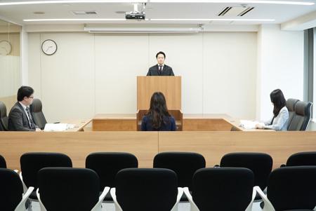 法廷イメージ