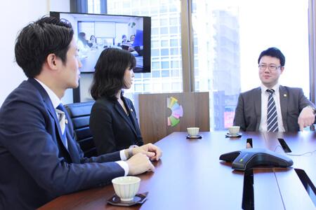 企業法務チーム座談会の画像